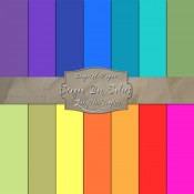 Solid Color Pack – 133 Crayon Inspired Digital Papers