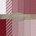 Pretty Mix of Patterns in Maroon & White – Digital Paper Pack 6