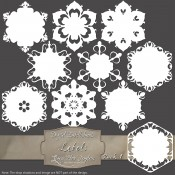 Snowflake Labels & Tags – Pack 1