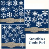 39 White Snowflakes – Combo Pack