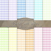 Aryle in Pastels & White – Digital Paper Pack 32