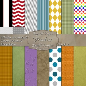 Sample Digital Paper Pack