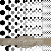 Polka Dot Pattern – Digital Overlays