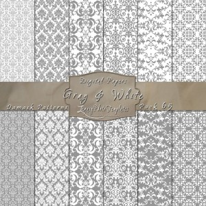 12x12 Patterns Gray&White - DP065 Display
