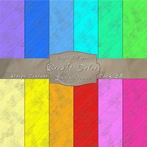 12x12 Texture Bright Colors - Pack028 Display