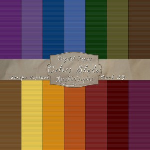 12x12 Texture Color Shades - Pack025 Display