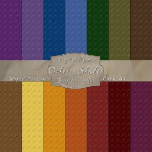 12x12 Texture Color Shades - Pack041 Display