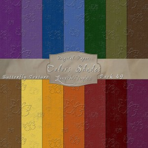 12x12 Texture Color Shades - Pack049 Display