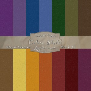 12x12 Texture Color Shades - Pack053 Display