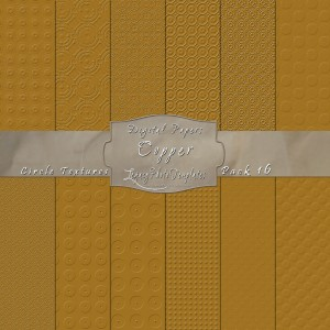 12x12 Texture Copper - DP016 Display