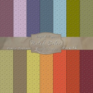12x12 Texture Muted Colors - Pack014 Display