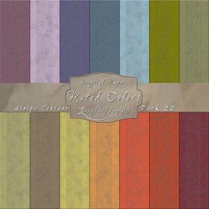 12x12 Texture Muted Colors - Pack022 Display