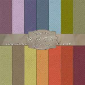12x12 Texture Muted Colors - Pack026 Display