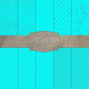 12x12 Textures Aqua Blue DP24 Display