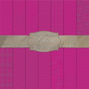12x12 Textures Fuchsia DP18 Display