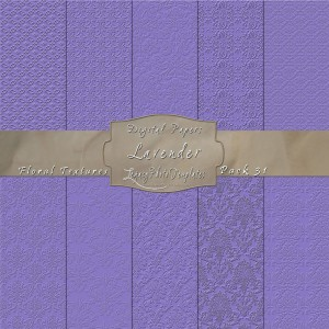 12x12 Textures Lavender DP31 Display