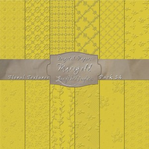 12x12 Textures Marigold DP34 Display