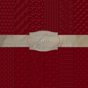 12x12 Textures Maroon DP15 Display