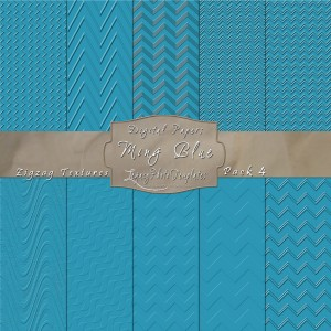 12x12 Textures Ming Blue DP04 Display