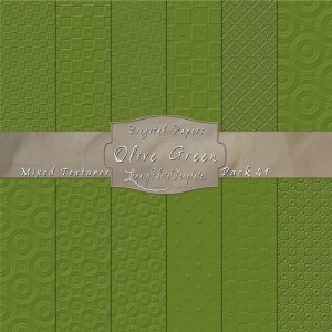 12x12 Textures Olive Green DP41 Display