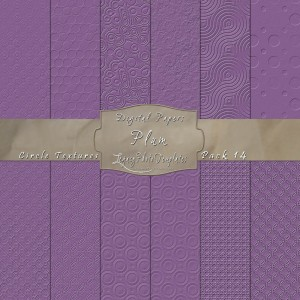 12x12 Textures Plum DP14 Display