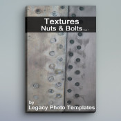 50 Textures of Nuts & Bolts Images – Pack 1